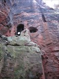 Image for Kynastons Cave, Cliffs, Nesscliffe, Shrewsbury, Shropshire, England, UK