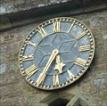 Image for Clock, St Peter's Church, Bromyard, Herefordshire, England