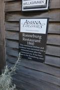 Image for Ronneburg Restaurant – Amana, IA