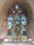 Image for Stained Glass Window, St Andrew's - Twyford, Derbyshire
