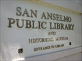 Image for San Anselmo Historical Museum - San Anselmo, CA
