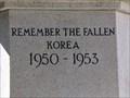 Image for Carmarthen - WW - Korean War Memorial - Wales, Great Britain.