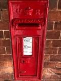 Image for Victorian Wall Post Box - Oxshott Railway Station - Surrey - UK