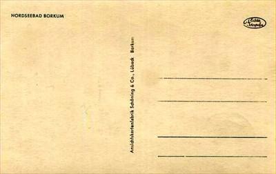 Rückseite - back of the postcard