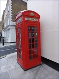 Image for Red Telephone Box - York Street, London, UK