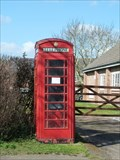 Image for Red Telephone Box - Main Street - Houghton on the Hill, Leicestershire