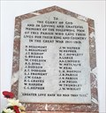 Image for Memorial Plaque - St Andrew - Swavesey, Cambridgeshire