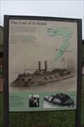 Image for LAST -- Remaining City-Class Ironclad Gunboat, USS CAIRO, Vicksburg MS