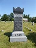 Image for Capt. Oliver R. Post - Granby, CT