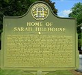 Image for Home of Sarah Hillhouse-GHM 157-32-Wilkes Co