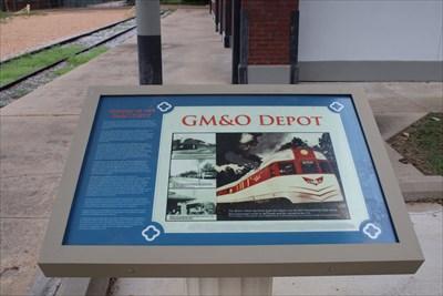 GM&O Depot -- Jackson MS - Mississippi Historical Markers on