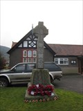 Image for WW1 & WW2 War Memorial, Llandrillo, Corwen, Denbighshire, Wales, UK