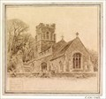 "Image for ""Hilton Church"" by Edward Walker – St Mary Magdalene Church, Hilton, Hunts, UK"