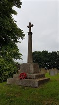 Image for Combined WWI / WWII memorial cross - St Andrew - Hambleton, Rutland