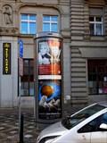 Image for Moderní reklamní sloup - Uhelný trh - Praha, CZ