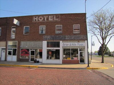 Central Hotel Building Dodge City Downtown Historic District Kansas Nrhp Districts Contributing Buildings On Waymarking