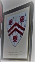 Image for Arms of Sir Ronald Herbert Garvey – The Parish Church of St. John the Baptist, The Royal Chapel – St. John's, Isle of Man