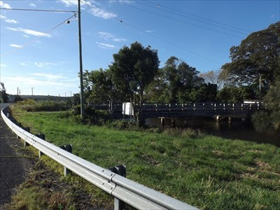 Side view, from South West Rocks Road - looking to SWR. 1510, Sunday, 30 April, 2017