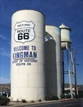 Image for Route 66 Water Towers - Kingman, AZ