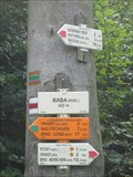 Image for Direction and Distance Arrow - Vranov, Czech Republic