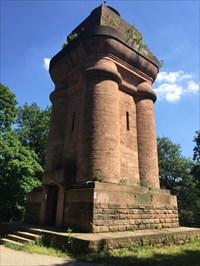 Bismarck Tower, Showing Entrance, Heidelberg, Germany