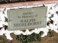 Image for Ralph Segelhorst - St. Johns Lutheran Cemetery - Beaufort, MO