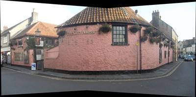 ...the pub on the corner.