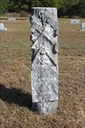 Image for John W. Larned - Rock Church Cemetery - Tolar, TX