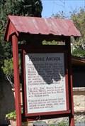 Image for Historic Anchor -- Mission San Gabriel Archangel, San Gabriel CA