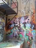 Image for Graffiti along Opera Lane - Kingston, Ontario