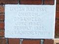Image for 1922 Union Baptist Church - Lipscomb, AL