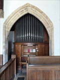 Image for Church organ -  St Cuthbert's -  Brattleby Lincolnshire