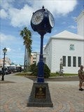 Image for Rotary 90th Anniversary Clock - Hamilton, Bermuda