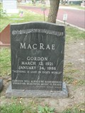 Image for Gordon MacRae - Wyuka Cemetery - Lincoln, Ne.
