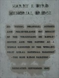 Image for Harry F. Byrd Memorial Bridge Plaque