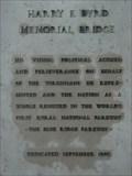 Image for Harry F. Byrd Memorial Bridge Plaque