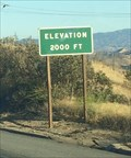 Image for Interstate 5 (Southbound) ~ Elevation 2,000
