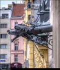 Image for Renaissance gargoyles at New Town Hall / Renezancní chrlice na Novomestské radnici (Prague)