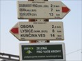 Image for Direction and Distance Arrows - Doubravice nad Svitavou, Czech Republic