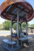 "Image for ""Two solar-powered charging stations installed on campus"" -- University of Texas, Austin TX"