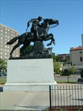 Image for Pony Express Statue at St. Joseph, Missouri