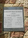 Image for 1939 - Gordon Public Schools - Gordon, TX