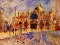 Image for Saint Mark's Basilica by Claude Monet - Venecia, Italy