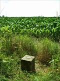Image for 1881 Survey milestone on Ohio-Pennsylvania border, Mile 37