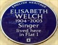 Image for Elisabeth Welch - Ovington Gardens, London, UK