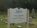 Image for Zion Methodist Church - New Egypt, NJ