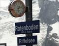 Image for Elevation Sign - Rotenboden - Switzerland.2815m