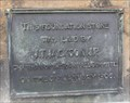 Image for 1906 - Town Hall Foundation Stone – Ilkley, UK