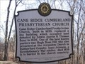 Image for Cane Ridge Cumberland Presbyterian Church - Historical Commission of Metropolitan Nashville and Davidson County