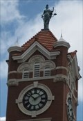 Image for Harper County Courthouse Clock - Anthony,  Kansas